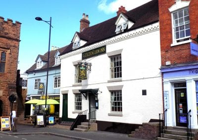 Golden Lion Inn Bridgnorth Pub