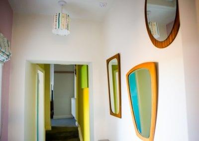 retro room B&B bridgnorth